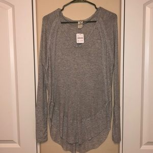 Free People We the Free Catalina Thermal Grey XS